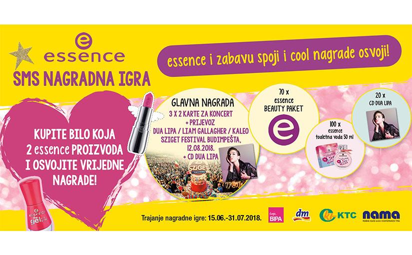 essence nagradna igra – essence i zabavu spoji i cool nagrade osvoji!