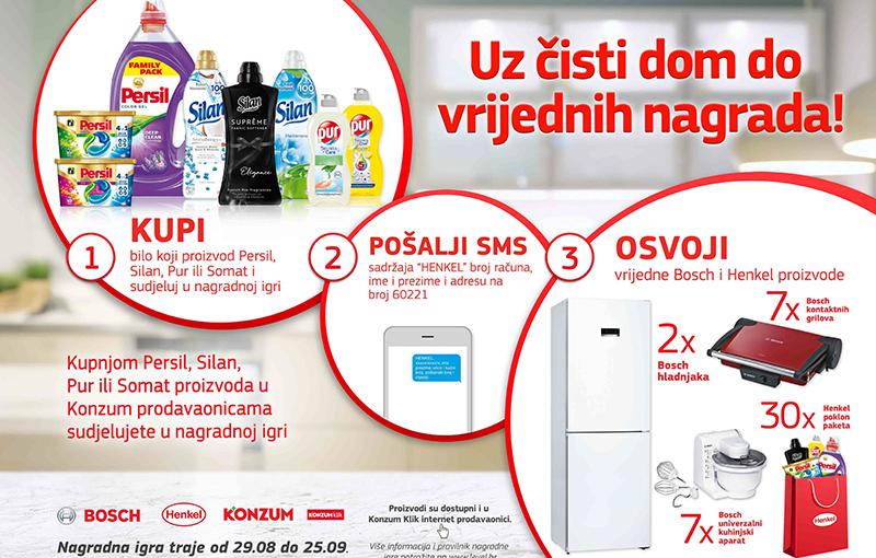 Henkel Croatia – Uz čisti dom do vrijednih nagrada!