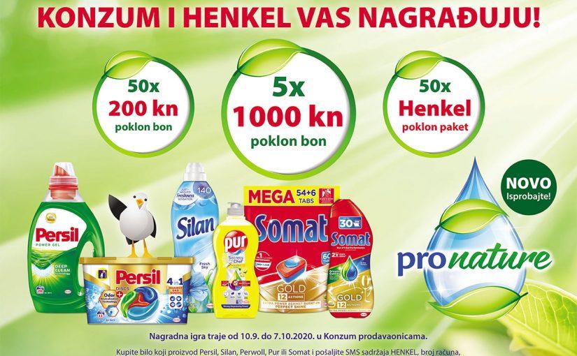 Henkel Croatia – Henkel i Konzum vas nagrađuju!